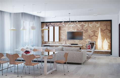 Interesting Light Wood Accents And Furnishings Add Sophistication And Simplicity interesting light wood accents and furnishings add