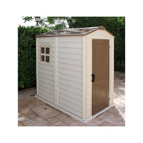 Abri De Jardin En Pvc De 2,04m² Woodstyle Premium Duramax