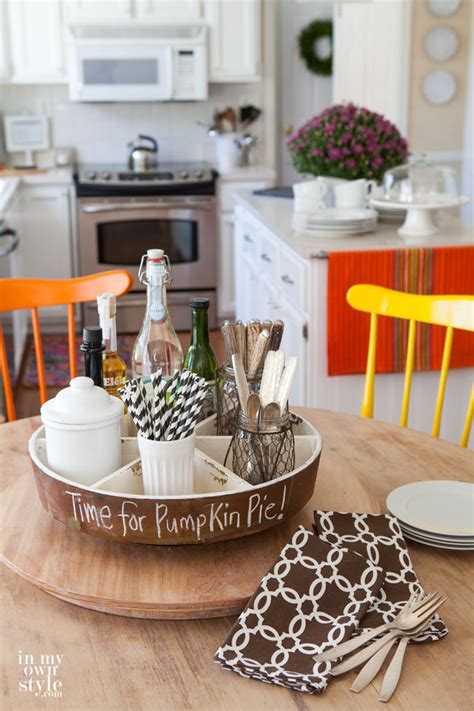 Decorating Ideas For Kitchen Tables by Fall Home Tour Part 2 In My Own Style