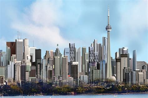 Video Toronto Skyline Getting 80 New Skyscrapers
