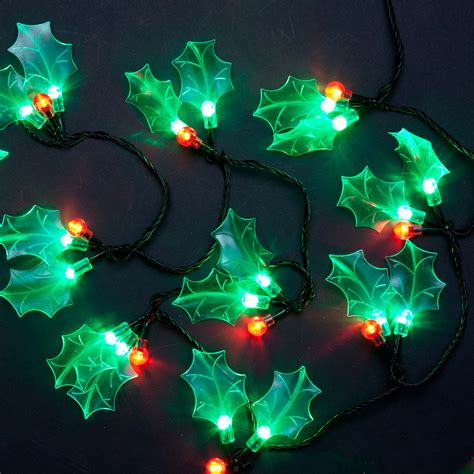 led christmas holly berry lights 60 and green led berry lights ebay