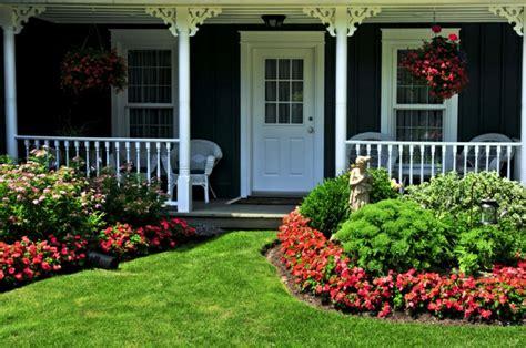 yard flowers flower garden in front of house aralsa com