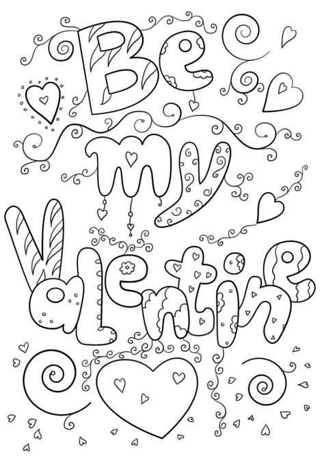valentines day coloring sheets february coloring pages best coloring pages for
