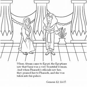 Information About Abram And Sarai Coloring Page