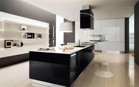 modern black  white kitchen design ideas home office