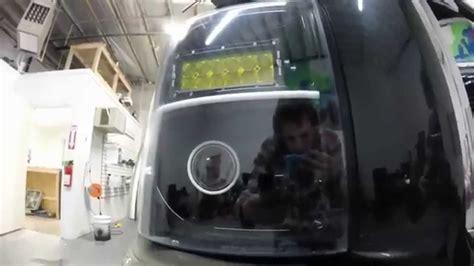 ford powerstroke f350 headlight retrofit