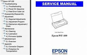 Epson Wf 7515 Service Manual  Software Free Download