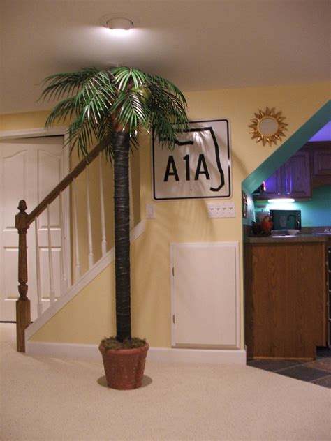 Creative Way To Hide A Basement Pole And Love The Sign