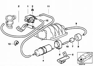 Original Parts For E39 540i M62 Touring    Engine   Air Pump