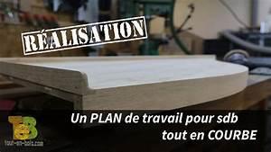 Faire Un Plan De Travail : fabrication d 39 un plan de travail pour salle de bain ~ Dailycaller-alerts.com Idées de Décoration