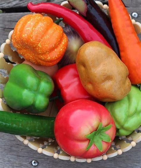 เซ็ตโมเดลผักปลอม สวย เหมือนผักจริง - DECORIQ | Wazzadu