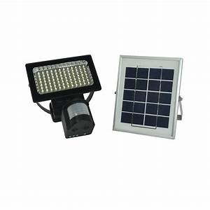 Solar sensor light orion flood blackfrog