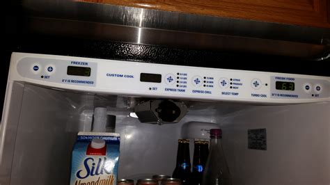 ge monogram zfsbdrgss  fresh food evaporator section  frozen original