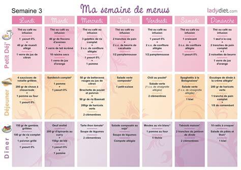 cuisine regime recette regime menu semaine cuisinez pour maigrir