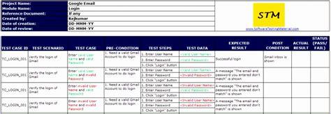 test script template excel exceltemplates exceltemplates