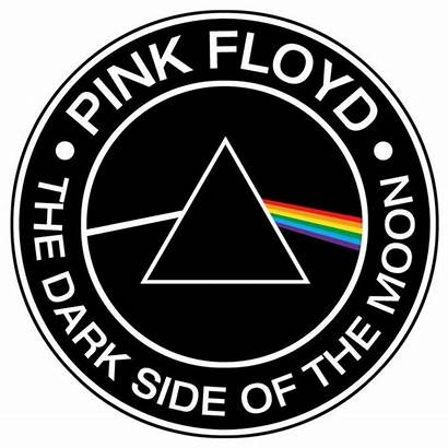 Pink Floyd Side Dark Moon Prism Sticker