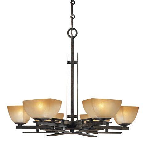 minka lavery   iron oxide  light  tier chandelier