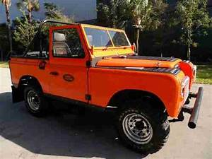 Purchase Used 1970 Land Rover Series Defender Rare 2wd