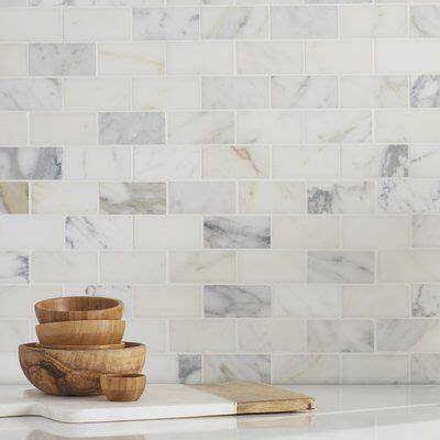 25 best ideas about marble subway tiles on