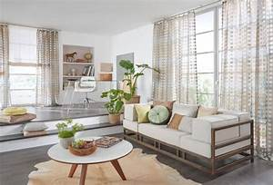 wohnzimmer gardine transparent stoffe f r wohn t r ume With wohnzimmer gardine