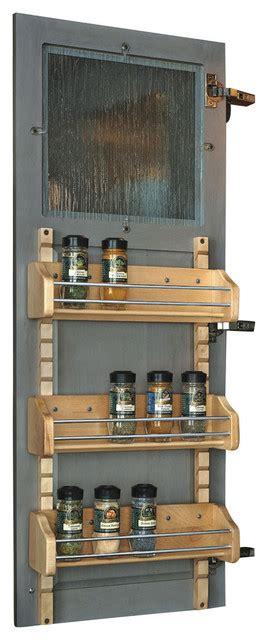 Adjustable Spice Rack by Rev A Shelf Adjustable Door Mount Spice Rack