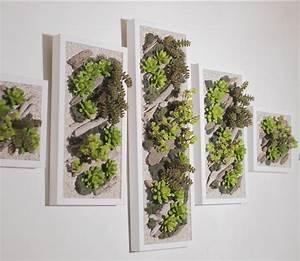 Cadre Décoratif Mural : comment faire un mur vegetal ~ Teatrodelosmanantiales.com Idées de Décoration