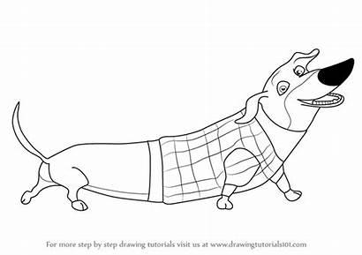 Season Open Weenie Mr Draw Drawing Step