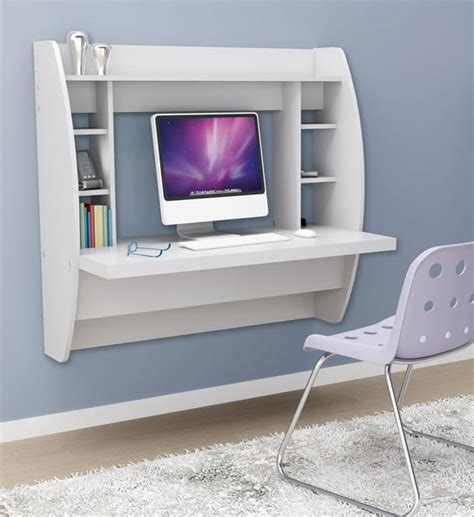 white wall mounted desk wall mounted desk with storage white in desks and hutches