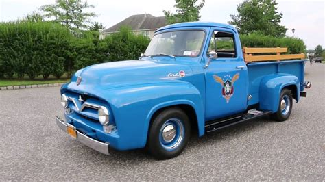 1955 ford f250 for sale 302 340hp crate motor beautiful restoration with big money invested