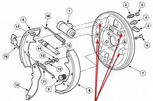 Ford Taurus Rear Drum Brake Diagram Pictures To Pin On