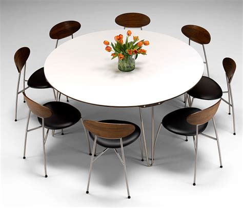 large round table delightful large round modern dining tables dining table