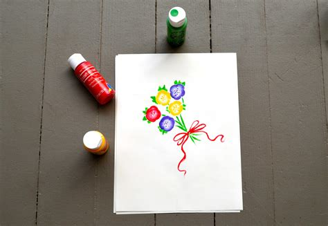 paint flowers diy projects craft ideas  tos
