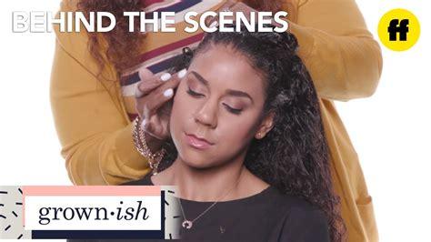 grown ish episode  zoeys hair tutorial freeform