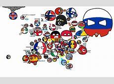 Polandball map of europe Countryballs