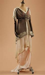 Evening dress, 1910's From the collection of Alexandre ...