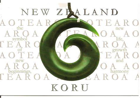 MY POSTCARD-PAGE: NEW ZEALAND ~The Koru~