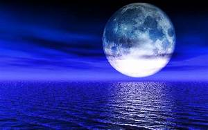 Blue Moon Wallpaper Desktop - WallpaperSafari