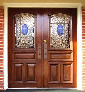 18 best church doors images on pinterest for Church entry doors