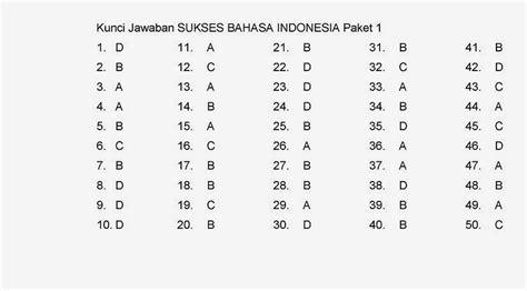Yang terdiri dari bahasa indonesia sebanyak 50 soal, matematika 40 soal, serta ipa 40 soal. Kunci Jawaban dan Soal UN Bahasa Indonesia Kelas 6 SD TA ...