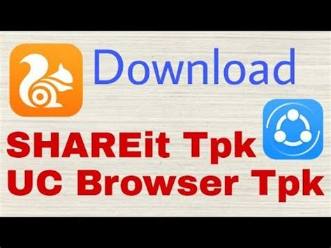 shareit tpk file and uc browser for tizen tpk for samsung z2 z1 z3 z4