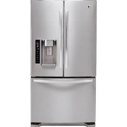 lg lfxst  cu ft french door bottom freezer refrigerator stainless steel