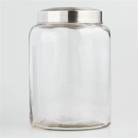 Kitchen Jars Shopping by Large Glass Kitchen Jar World Market