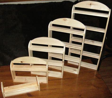 wood spice rack wooden spice rack made ebay