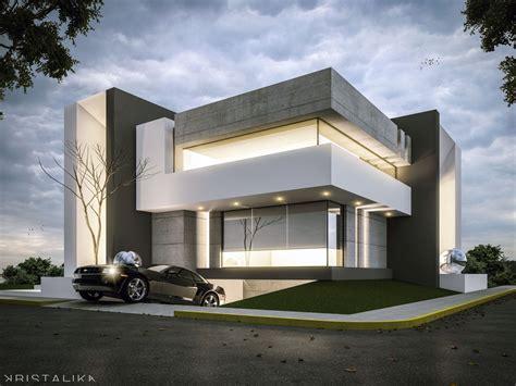 Casa Contemporánea Fachadas Jc House Architecture Modern