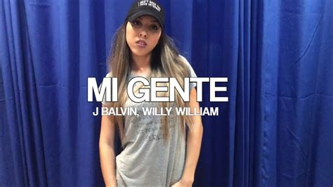 J Balvin, Willy William (coreografia)