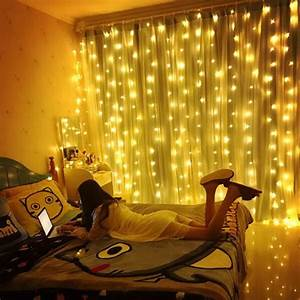 3x3m, Led, Window, Curtain, String, Lights, 300, Led, Christmas, Lights, For, Wedding, Party, Garden, Bedroom