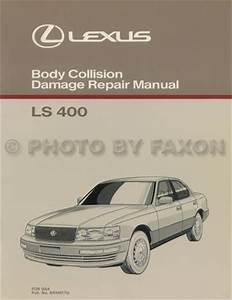 1992 Lexus Ls 400 Repair Shop Manual Original 2 Volume Set