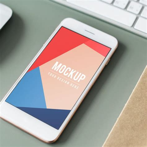 A set of two glossy iphone case mockups (frontal and perspective view). Download Premium Mobile Phone Screen Mockup Template for ...