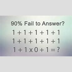 90% Fail To Answer This Correctly! Youtube