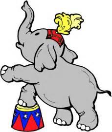 Circus Elephant Clip Art Free